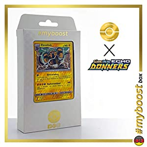 Elevoltek (Electivire) 72/214 Holo Reverse - #myboost X Sonne & Mond 8 Echo Des Donners - Box de 10 Cartas Pokémon Alemán