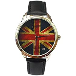 Zeigt originelle-Braclet Leder-Flagge von England