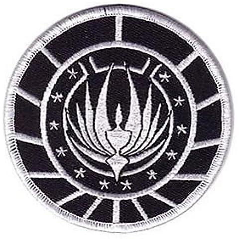 Battlestar Galactica Razor Marines Insignia Parche coser de 3,5