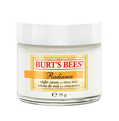 Burt's Bees Radiance Night Cream with Royal Jelly Nachtcreme, 1er Pack (1 x 55 g)