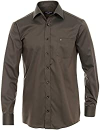 CASAMODA Herren Businesshemd 006140 langarm Comfort Fit