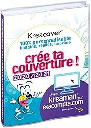Exacompta 18491RE Kreacover 100% personnalisable imagine,réalise, imprime crée ta couverture 2020/2021