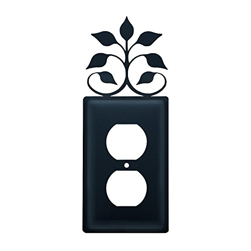 Leaf Wall Plate (Leaf Fan - Single Outlet Cover)
