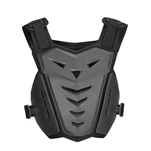 perfk Motorrad-Schutzweste Unisex Rennsport Schutzwesten Brustpanzer Motorrad Schutz Jacke