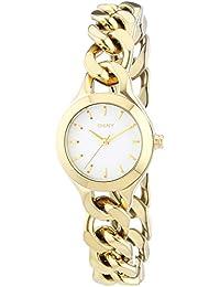 DKNY Damen-Armbanduhr XS Analog Quarz Edelstahl beschichtet NY2213