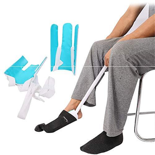 WLIXZ Socks Assister tragen, Behinderte ältere Sockenhilfsmittel, zum Ankleiden, Unabhängiger Anziehhilfe