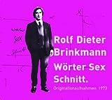 Wörter Sex Schnitt, 5 Audio-CDs - Rolf Dieter Brinkmann