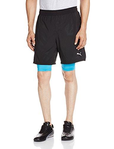 PUMA Herren Hose Faster Than You 2-in-1 Shorts Black