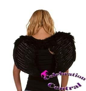 Feather Angel / Devil Wings - Black
