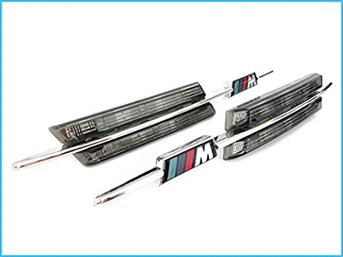 Kit Freccia Laterale a Led Side Marker Lente Fume BMW E90 E91 E92 E93 E60 E61 E82 E88
