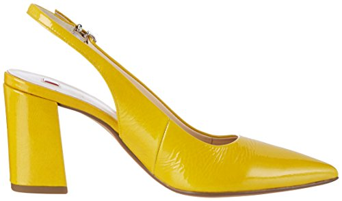 HÖGL 3-10 7605 8100, Scarpe Col Tacco con Cinturino a T Donna Giallo (Yellow8100)