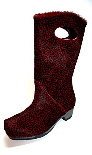Think wood 9–89481 chaussures bottes femme Rouge - Rouge
