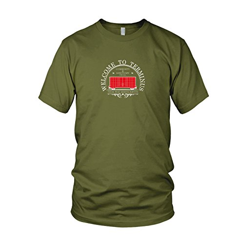 Welcome to Terminus - Herren T-Shirt Army
