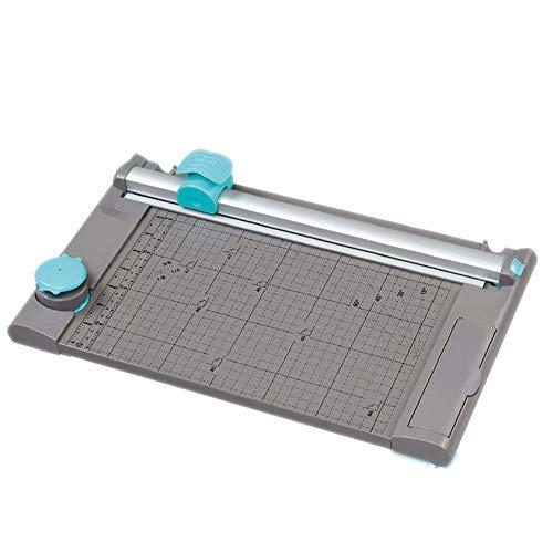 Tagliacarte portatile taglia carta A4//A5 taglierina di precisione per foto e scrapbook