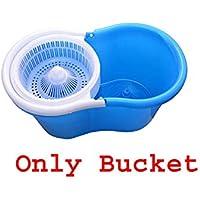 NAVSATMBH Easy Magic Floor Mop 360° Bucket Pvc (Mop Bucket Only, Assorted Color)