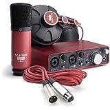 Focusrite - Scarlett studio scarlett studio es un completo pack que contiene todo lo necesario para que realices en tu casa grabaciones de calidad.
