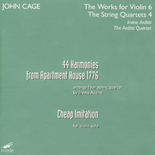 Cage: Harmonies From Apartment House 1776