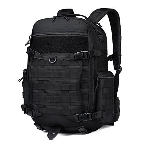 Mardingtop Rucksack Damen Herren Taktischer Backpack Schulrucksack Laptop Rucksack YKK Zipper für Notebook Lässiger Daypacks Schultaschen für Wandern Reisen Camping