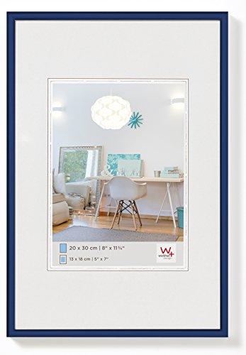 walther design KV130L New Lifestyle Kunststoffrahmen, 21 x 29,7 cm, blau