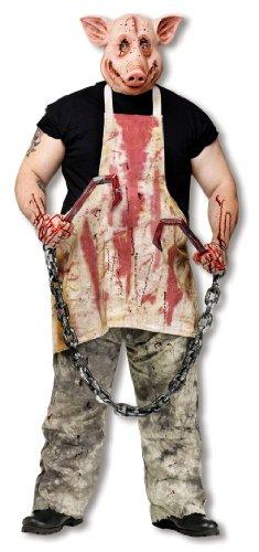 Horror Metzger Schwein Kostüm