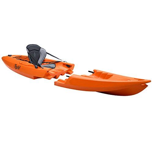 TEQUILA GTX solo Kayak Desmontable (Naranja)
