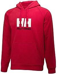 Helly Hansen Hh Logo Summer Hoodie Sudadera con capucha, Hombre, Rojo, XX-Large (Tamaño del fabricante:2XL)