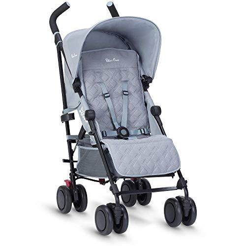 Silver Cross Pop Stroller, Compact and Lightweight Pushchair - Quarry