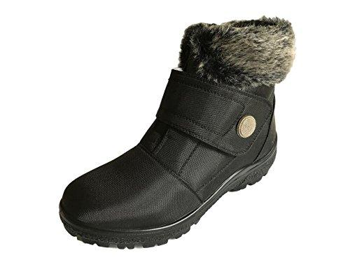 Cushion Walk Thermo-Tex Fur Lined Womens Snow Boots Ladies Snug Warm Fashion...