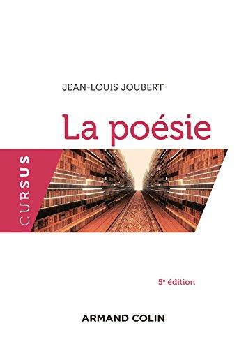 La poésie - 4e édition