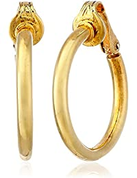 Bling Jewelry Pendientes de Aro Plata de Ley Oro Vermeil