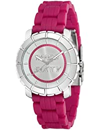 Miss Sixty R0751102001 - Reloj analógico de cuarzo para mujer con correa de silicona, color rosa