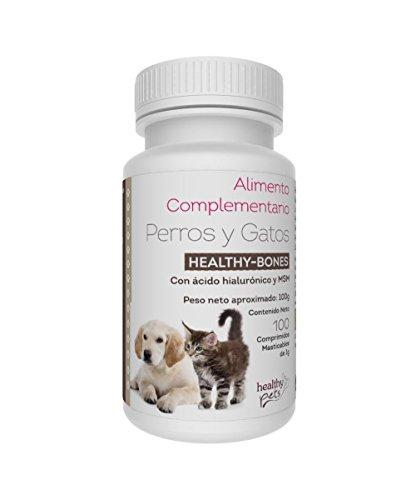 Healthy Pets Bones Complementos Alimenticios Mascotas - 100 Comprimidos