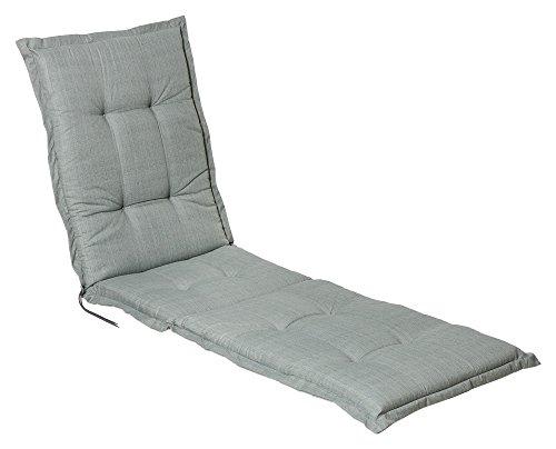 Auflage Polster für Liegestuhl und Garten-Liege extra lang und extra dick verarbeitet