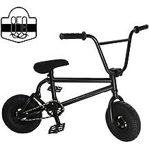 Mini–Bicicletta BMX Freestyle Luce di pneumatici con 3Crank & Primavera accessori per biciclette Bad Boy (Primavera Wagon)