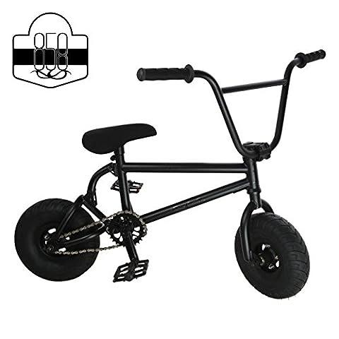 Mini BMX Freestyle Bike?Licht Fat Reifen mit Profilsenkereinsätze Kurbel & Spring Zubehör für PRO zu (Primavera Wagon)
