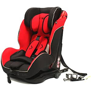 isafe S06W Isofix Duo Trio Plus Isofix and Top Teether Car Seat (Pepper)