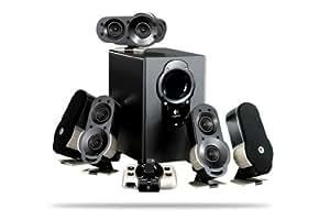 Logitech G51 Surround Sound Speaker System 5.1 155W (ensemble Home-Cinema / gaming PC)