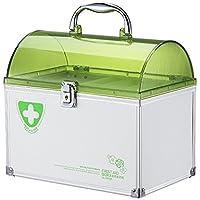Popowbe Tragbare Medizin Aufbewahrungsbox Organizer Medizin Lock Box preisvergleich bei billige-tabletten.eu