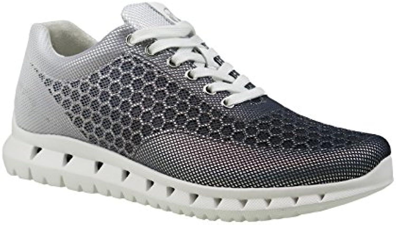 Gabor Damenschuhe 64.331 Damen Sneaker Schnürer Schnürhalbschuhe ulta-leicht mit verbreiterter Auftrittsfläche