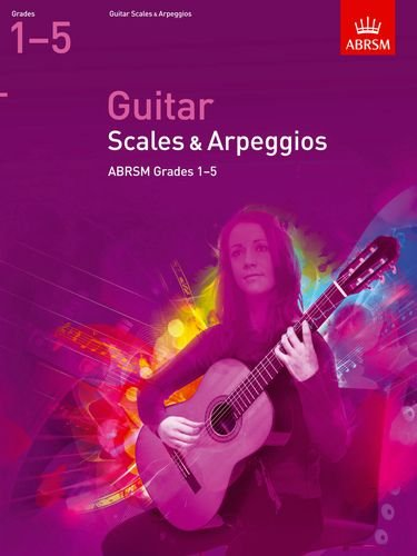 Guitar Scales and Arpeggios, Grades 1-5 (ABRSM Scales & Arpeggios)