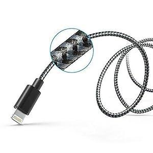 Anker-Nylon-iPhone-Ladekabel-Lightning-Kabel-Apple-MFi-Zertifiziert-fr-iPhone-iPad-und-weitere-Grau