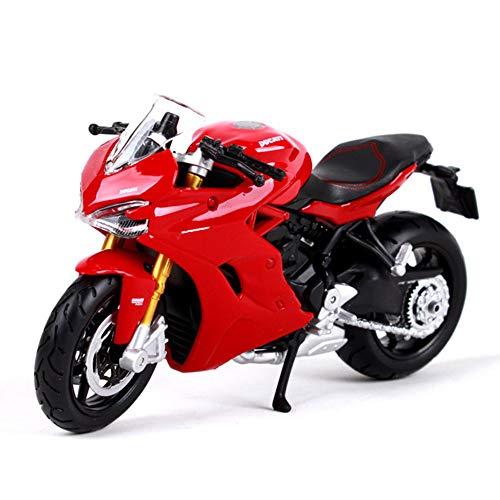 GRX-PRETTY 1:18 / Ducati Supersport S Modelo De Moto De AleacióN De...