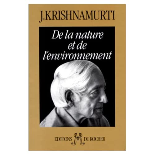 De la nature et de l'environnement