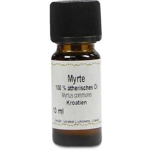 Myrten Öl, 100 Prozent ätherisches Myrtenöl, 10 ml, Myrtus communis, PZN 07204786