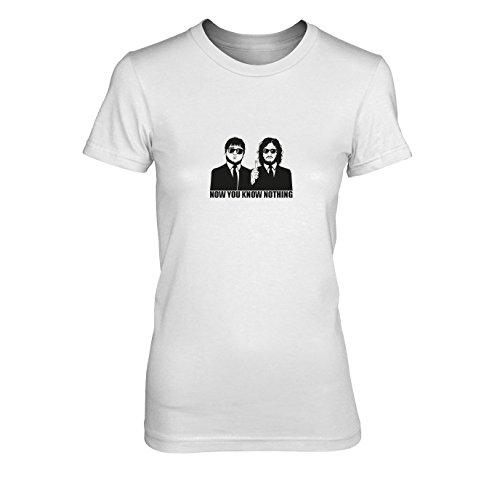 GoT: Blitzdings - Damen T-Shirt, Größe: M, Farbe: weiß (Game Of Thrones Tyrion Lannister Kostüm)