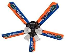 Ceiling Fan Designers 7995-FLA New NCAA FLORIDA GATORS 52 in. Ceiling Fan