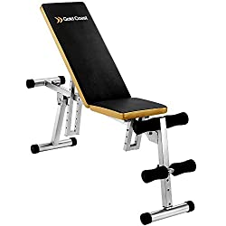 Gold Coast Gewichtheben Heimtrainer verstellbar zusammenklappbar Sit Up Fitness Sport Hantelbank