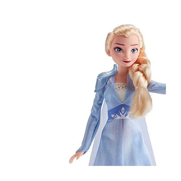 Hasbro Frozen Hasbro Disney Elsa Fashion Bambola con Capelli Lunghi e Abito Blu, Ispirata al Film Frozen 2, Multicolore… 2 spesavip
