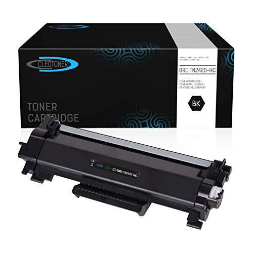 CLEOTONER kompatibel zu Brother TN-2420 TN2420 TN-2410 TN2410 zu Brother HL-L2310D HL-L2350DN HL-L2370DN HL-L2375DW DCP-L2510D DCP-L2530DW MFC-L2710DN MFC-L2730DW MFC-L2750DW Drucker