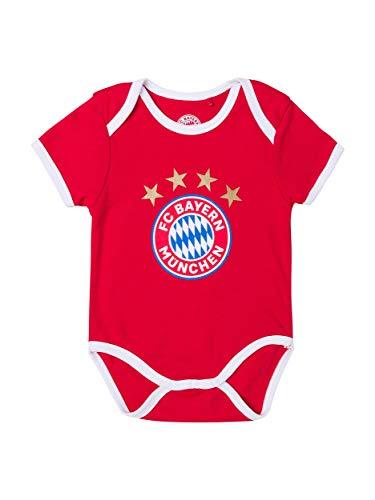 FC Bayern München Baby Body Logo, 50/56